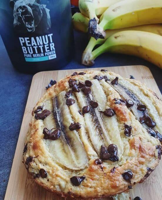 Photo de notre banana bread healthy