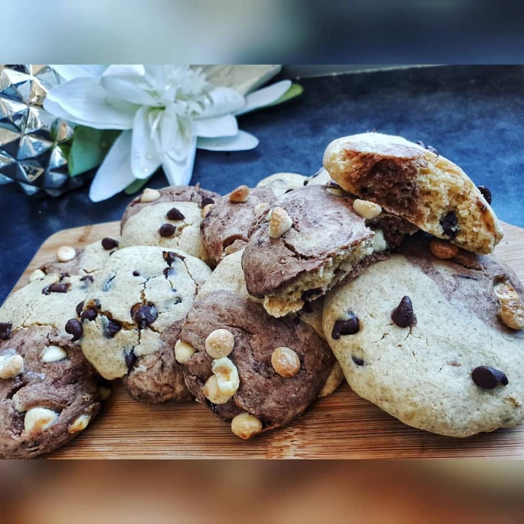 Recette de Cookies marbrés