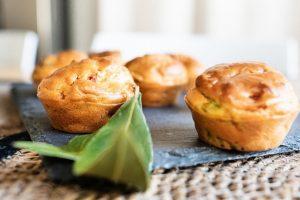 Recette de Muffins salés poivrons chorizo