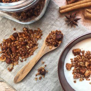 Recette de Granola maison healthy