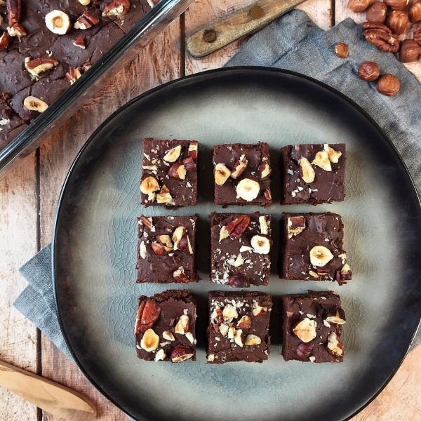 BROWNIES HARICOTS ROUGES