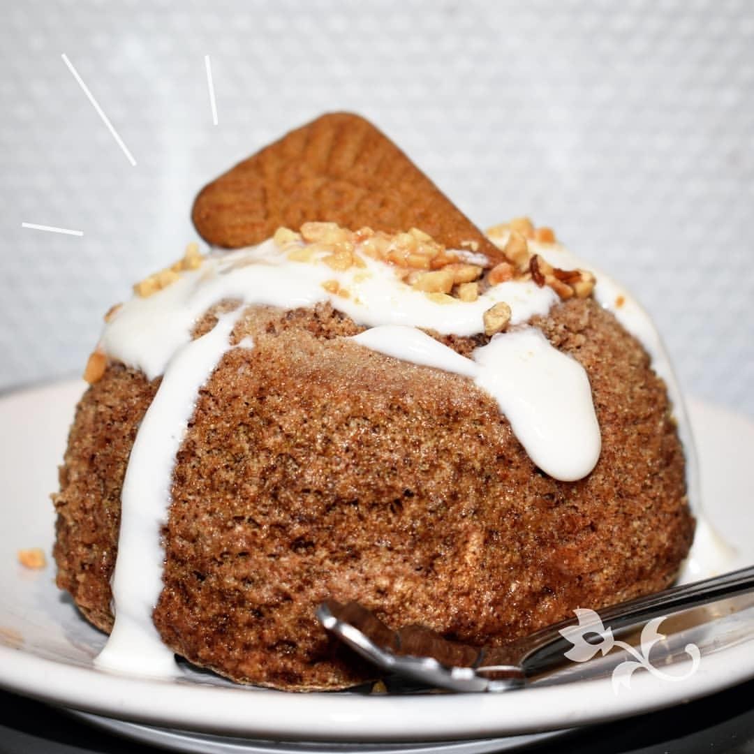 Recette de Bowlcake Pain d'épices, cœur chocolat