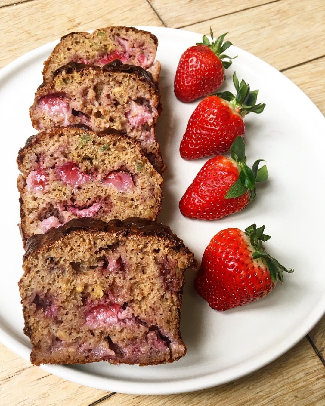 recette de Cake aux fraises