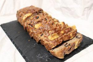 Recette de Cake châtaignes, olives et abondance