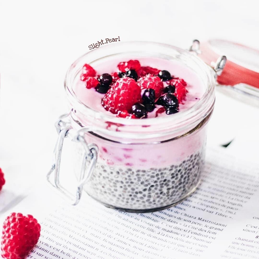 Une bonne recette de Chia pudding maison
