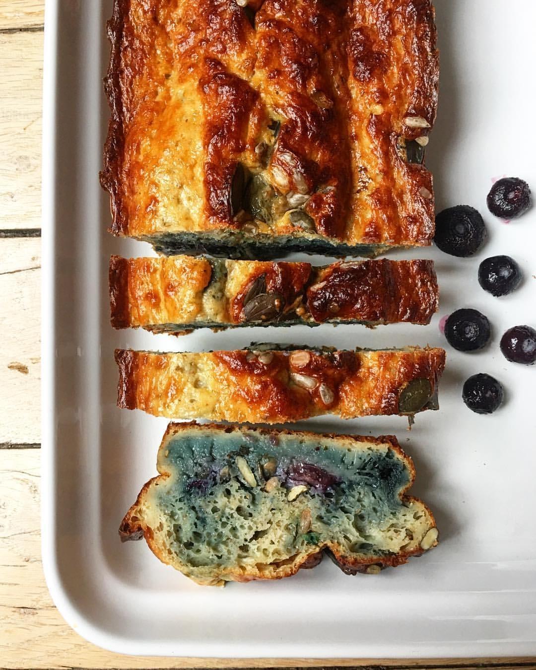 Recette de Moelleux aux blueberries