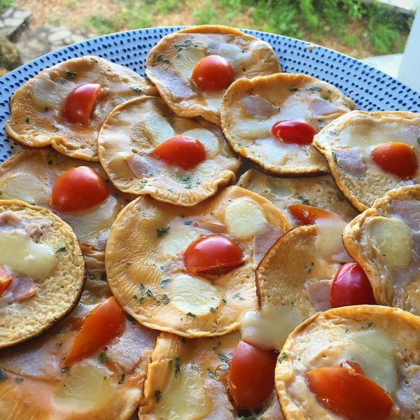 Omelette façon pancakes