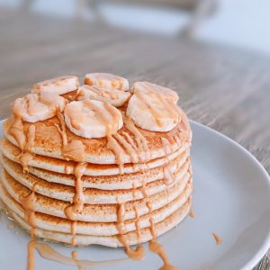 Recette de Pancakes Tower Healthy et rapide
