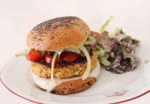 Recette de Veggie mustard burger