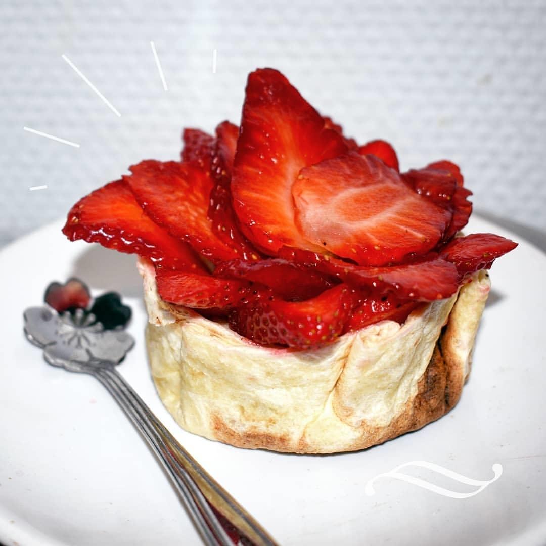 Recette de Wraptelette aux fraises