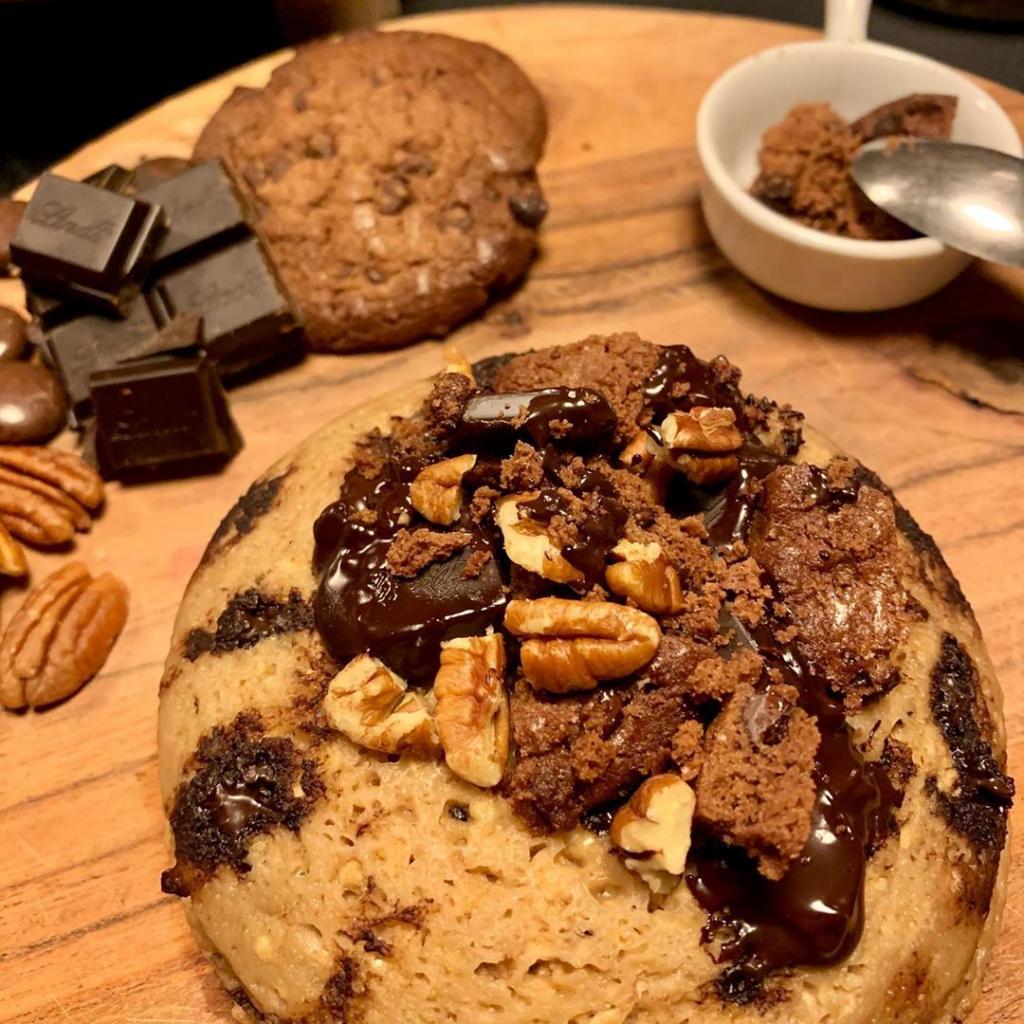Bowlcake façon cookies caramel