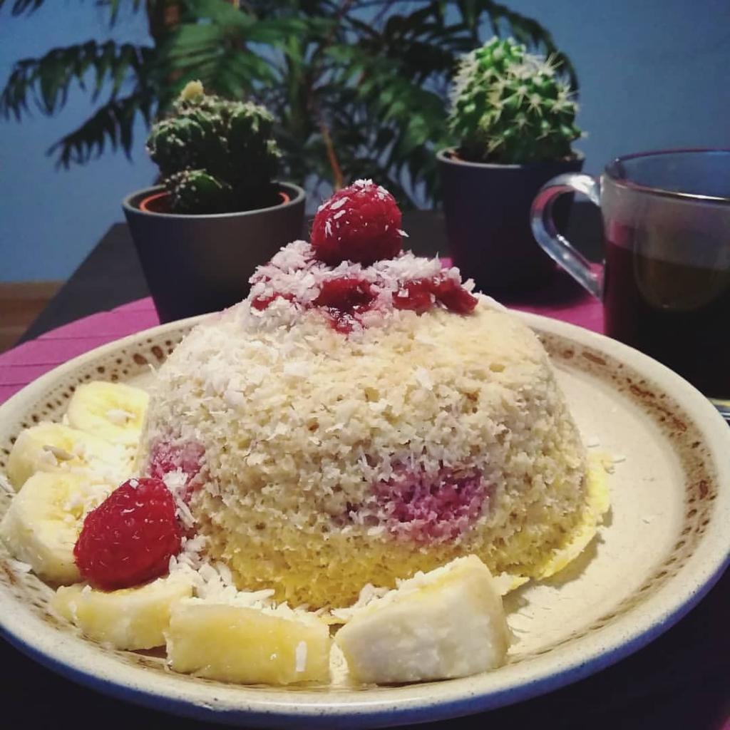 Bowlcake coco framboise