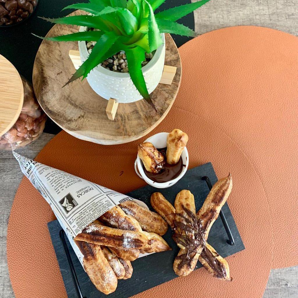 Recette Churros De Fete Foraine churros sans friture healthy