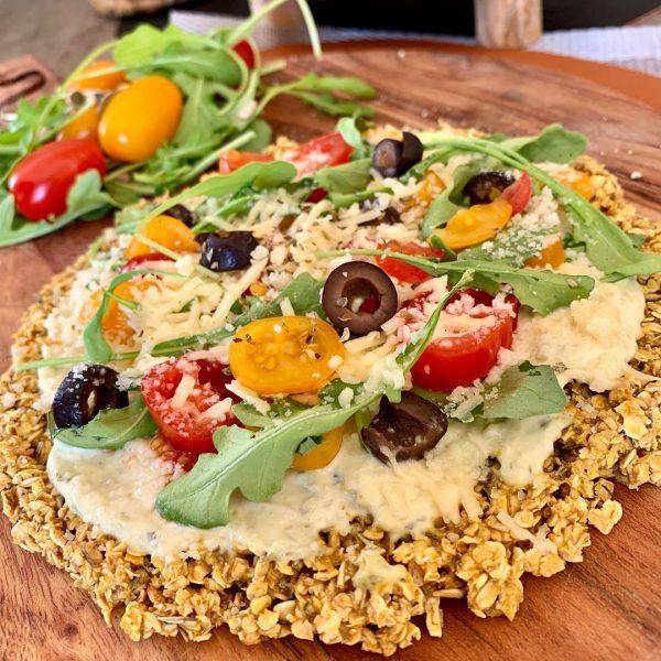 Pizza à l'avoine healthy