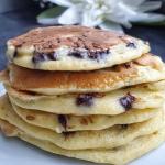Pancakes healthy aux pépites de chocolat
