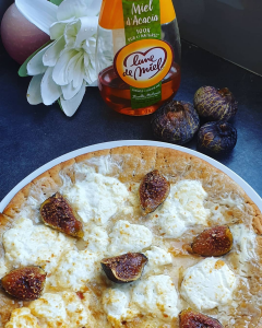 PIZZA FIGUES CHÈVRE MIEL