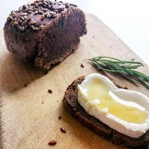 Petit pain à la farine et graines de lin