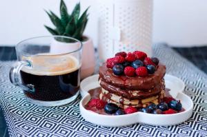 Pancakes healthy à la farine d'avoine
