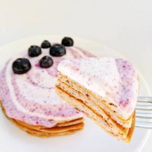 Pancakes à la poudre d'acaï de nu3.fr