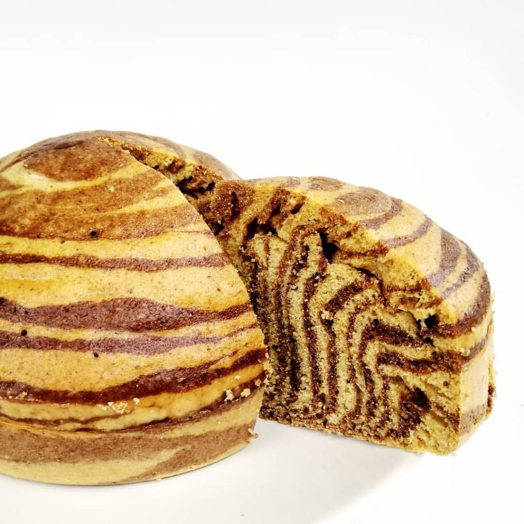 Cake zébré cuisson vapeur