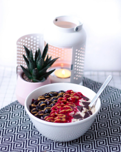 Porridge avec de l'avoine