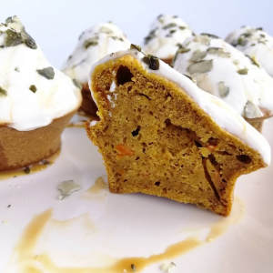 Muffins à base de potimarron healthy