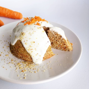 Carrot bowlcake healthy