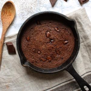 Brownies healthy à la compote