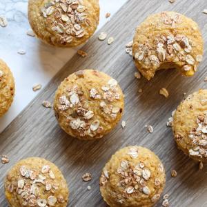 Muffins à la farine de coco