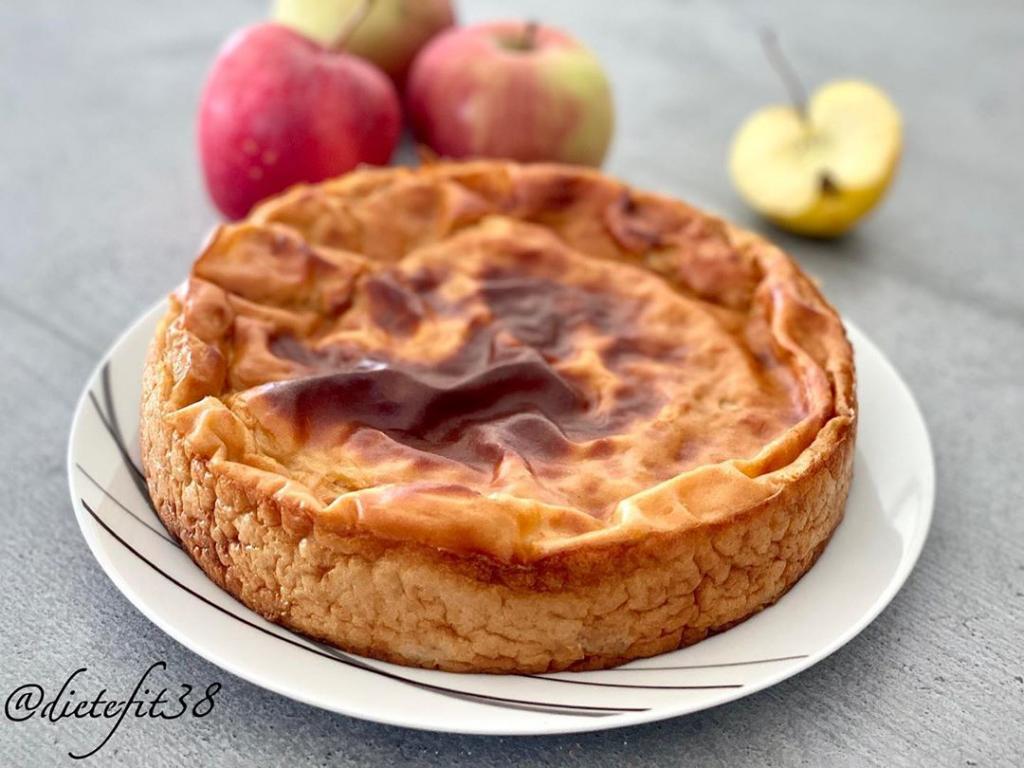 Recette de Flan pâtissier aux pommes sans pâte