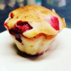 Recette de muffins aux fraises