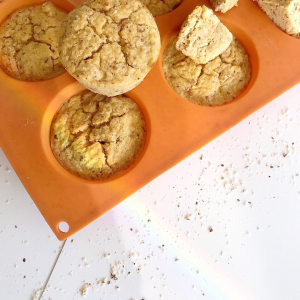 Recette de muffins goût frangipane