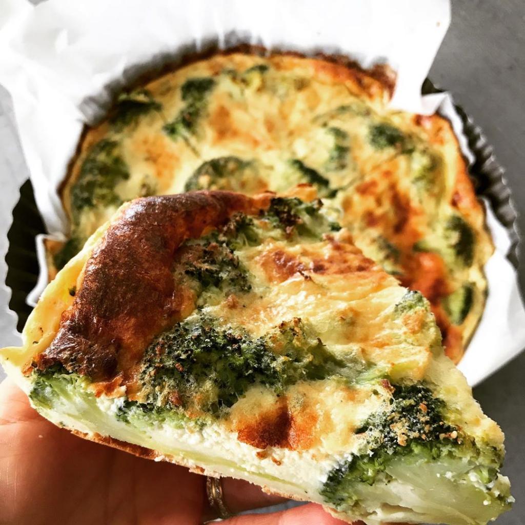 Recette de quiche sans pâte aux brocolis