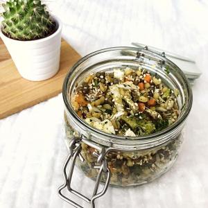 Recette de salade lentilles et boulgour