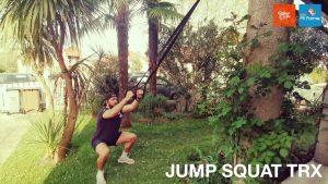 JUMP SQUAT au TRX
