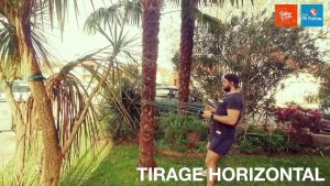 TIRAGE HORIZONTALE à L'ELASTIQUE