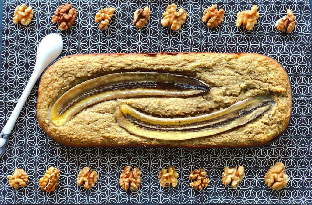 Banana Bread leger et gourmand