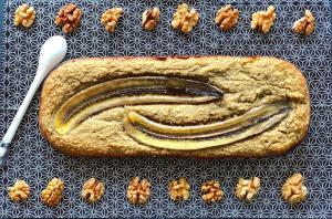 Banana Bread leger et gourmand