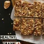 Barre de granola healthy