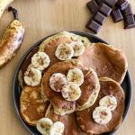 pancake healthy à la banane
