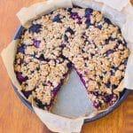 tarte healthy version crumble