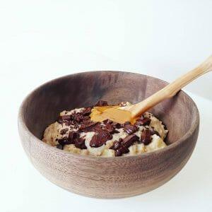 Porridge pommes cannelle