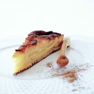 Gâteau pommes cannelle healthy et délicieux