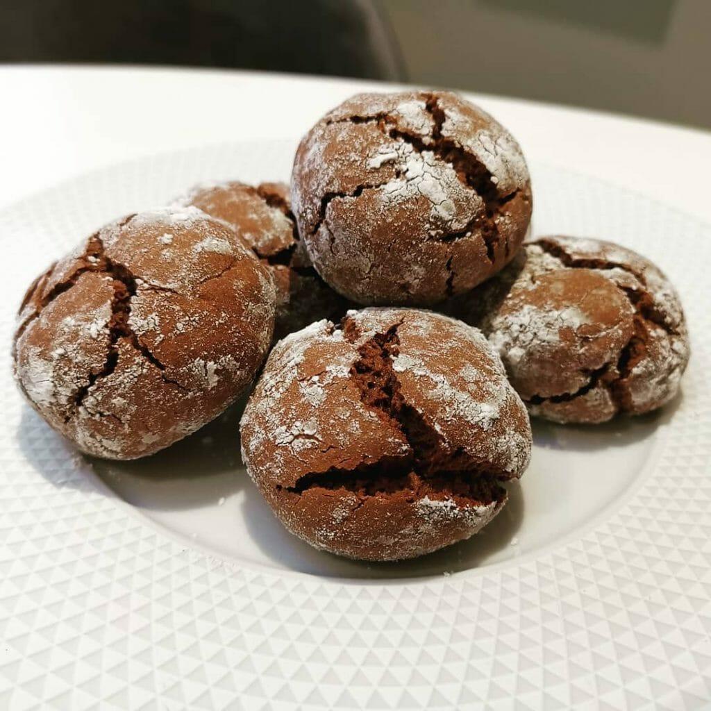 Crinkles chocolat sésame