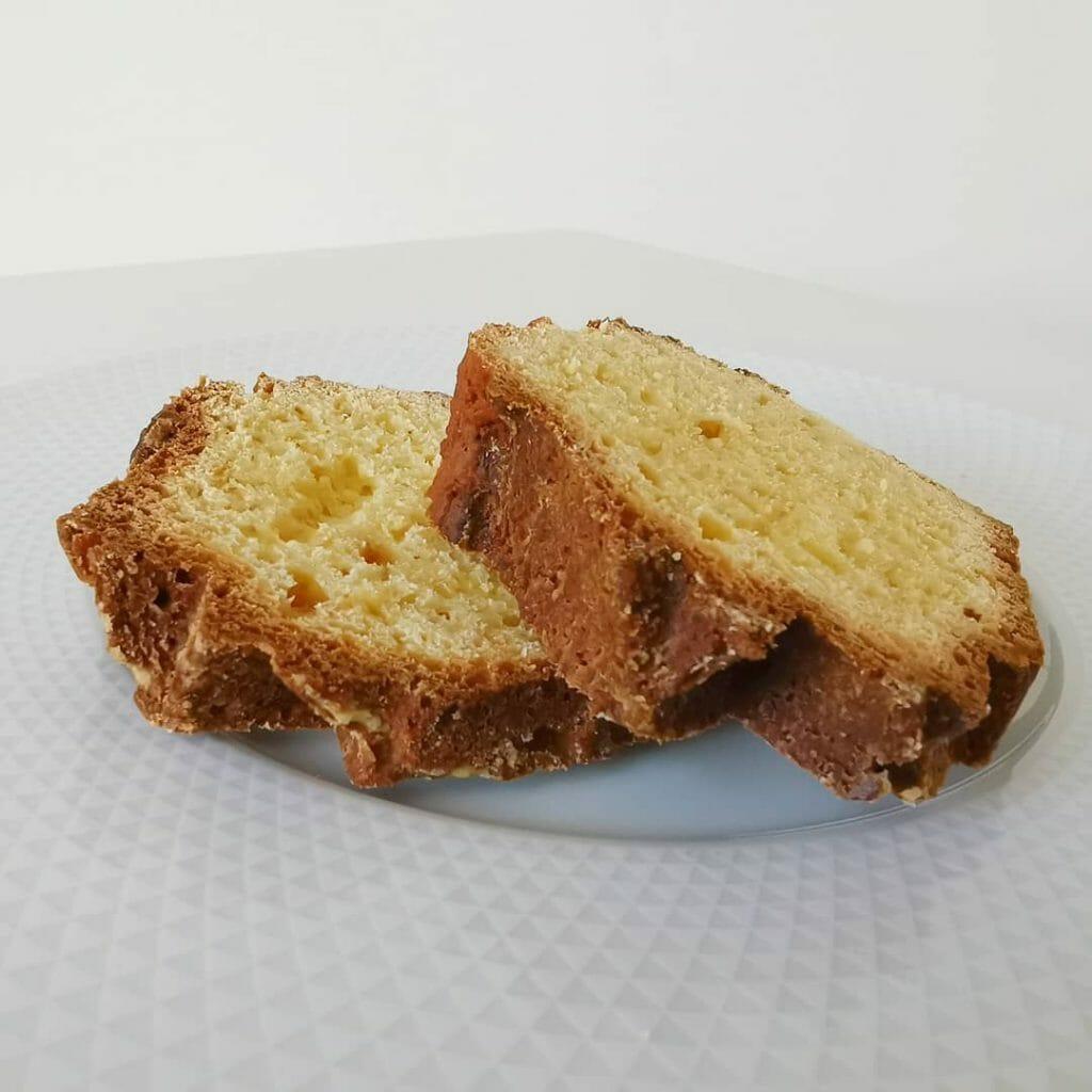 Cake ultra moelleux aux jaunes d'œuf et faible en calories