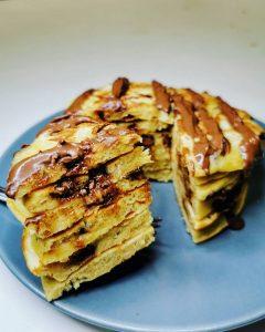 Pancakes citron healthy
