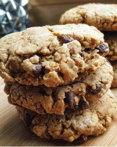 Cookies au beurre de cacahuètes allégées