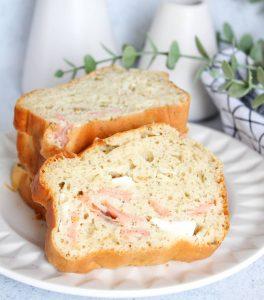 Cake saumon et fromage frais
